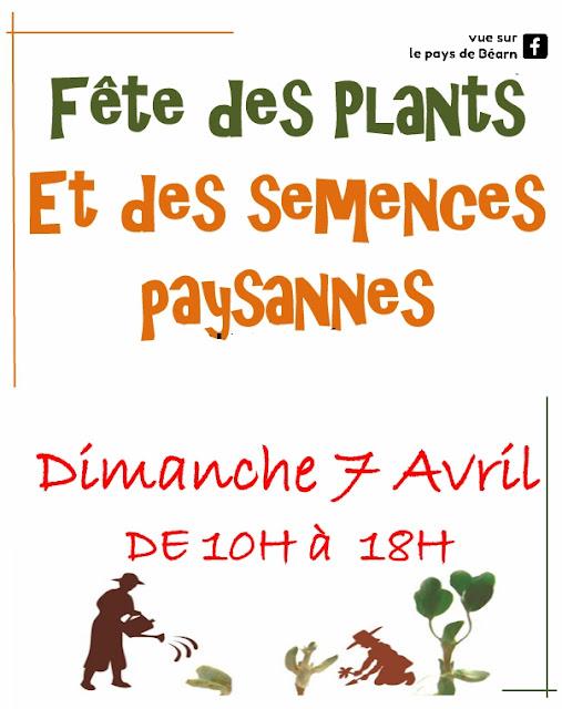 Fête des plants et des semences paysannes Lasseube 2019