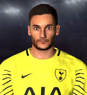PES 2017 Faces Hugo Lloris by Youssef Facemaker