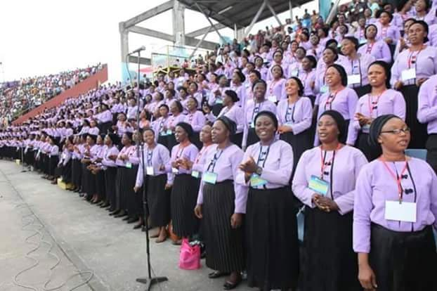Thousands troop out as Wike attends Pastor Kumuyi's crusade in Rivers