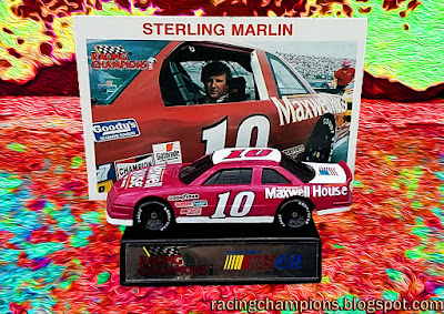Sterling Marlin #10 Maxwell House Racing Champions 1/64 NASCAR diecast blog BGN Busch