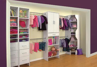 Decora el hogar Closets modernos para jovenes y nios
