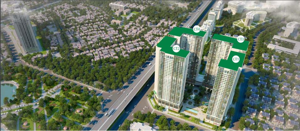 khu tiện ích eco green city