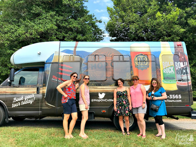 Cville Hop On tours in Charlottesville, VA can pick you and your group up from wherever you are staying- a hotel, bed & breakfast, an Airbnb. You don't have to come to them!