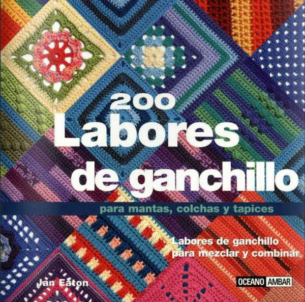 Libro de tejido 200 labores de ganchillo para ver online