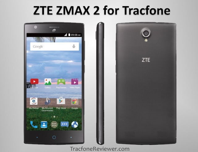 ZTE ZMAX 2 tracfone review