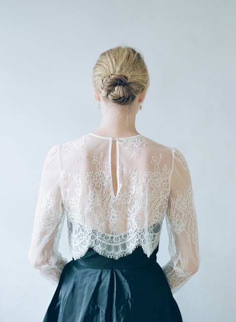 Wedding Gown Delicate Lace
