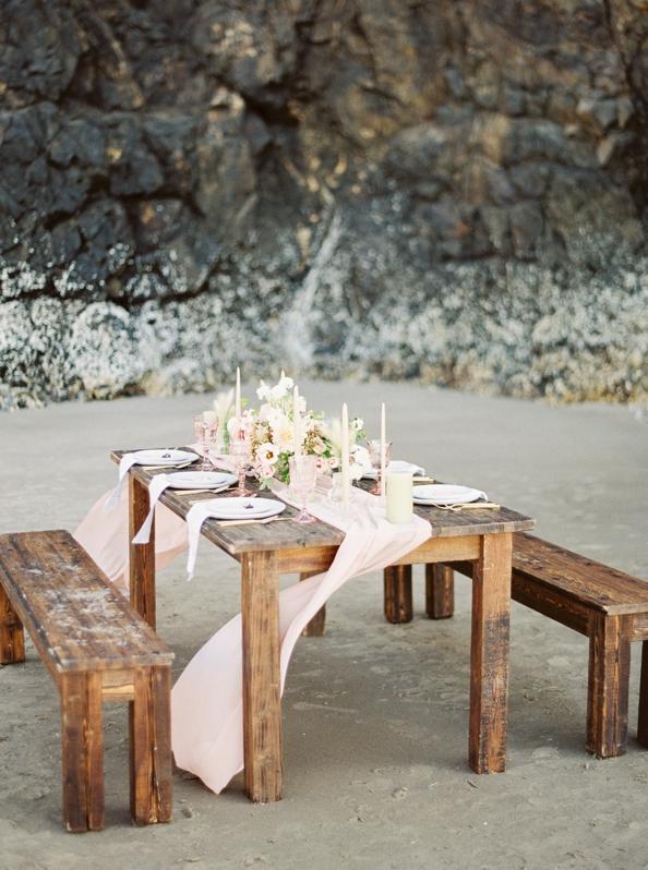inspiración para una boda en la playa chic and deco blog