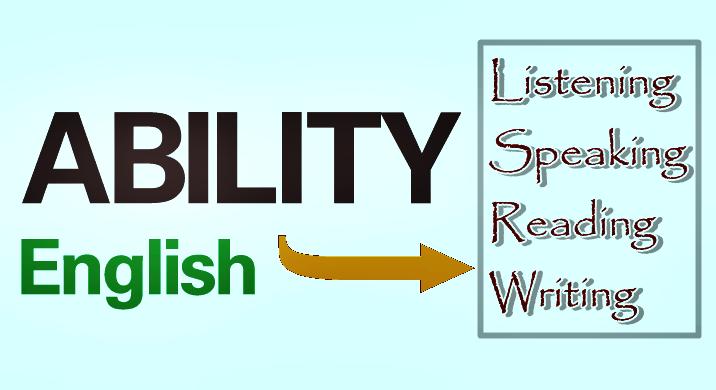 Cakap berbahasa inggris (english ability)
