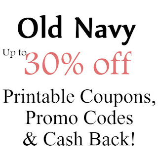 Old Navy Printable Coupon February, March, April, May, June, July 2016