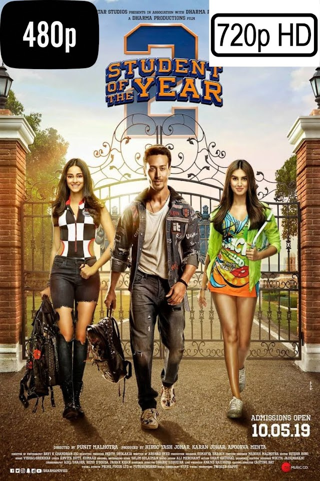 Student of the Year 2 (2019) Hindi Movie 720p Download