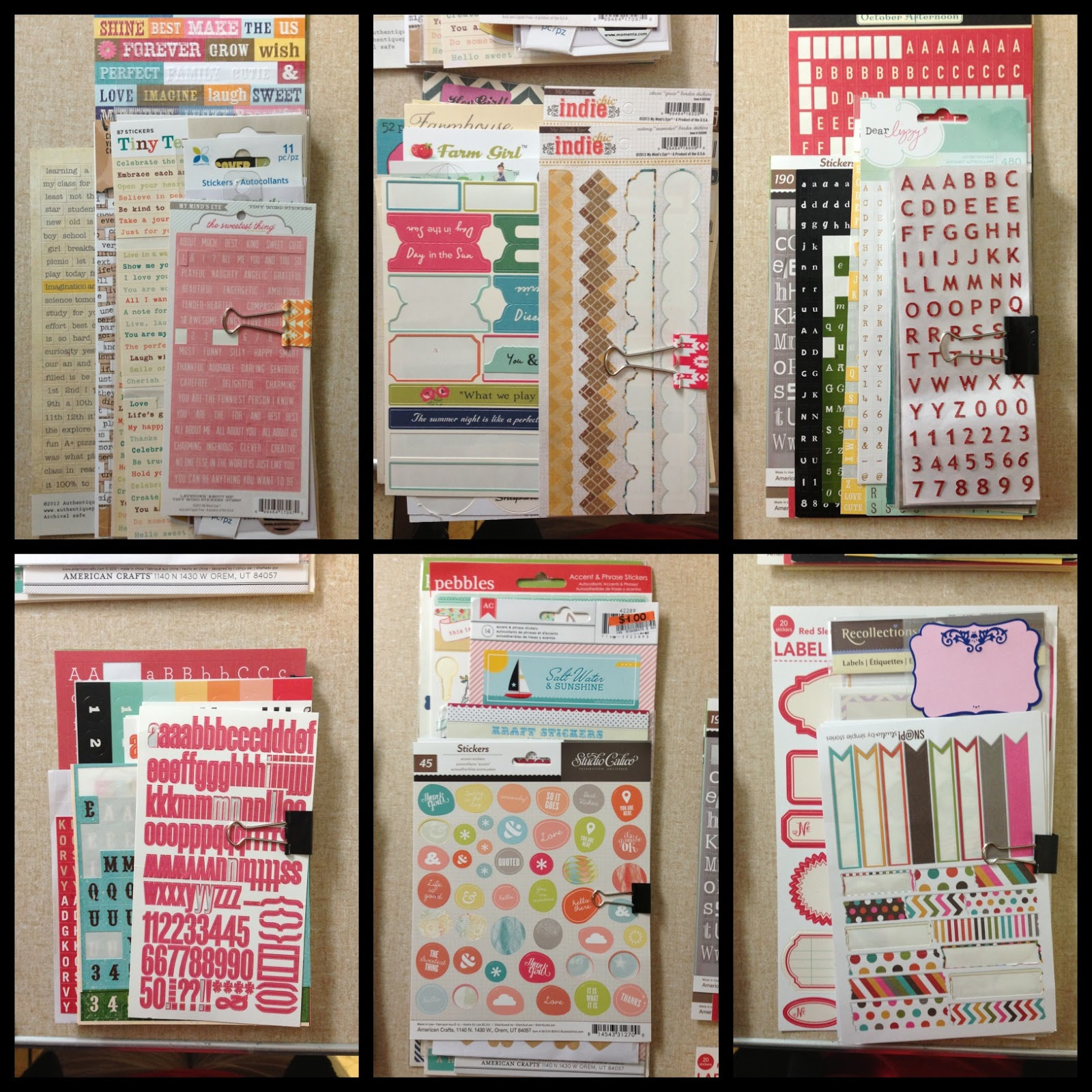 Mrs Crafty Adams: Organizing Project Life