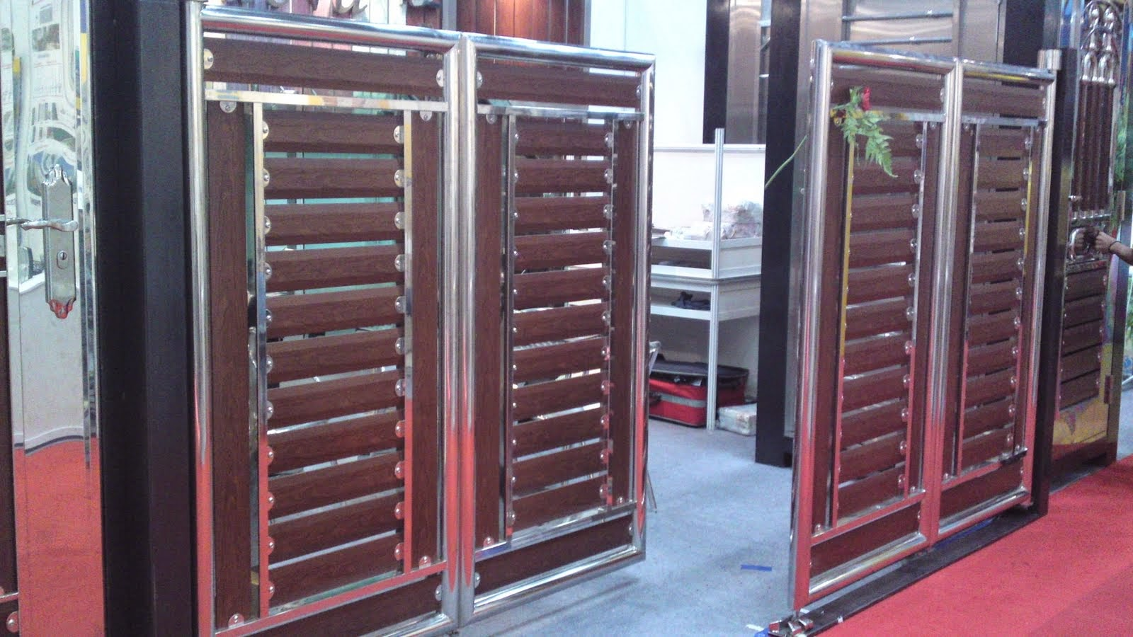 Design For Gates, Grills: Latest gates design in steel