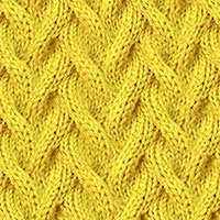 Learn Sand Cable Pattern with our easy to follow instructions at HandKnittingStitches.com