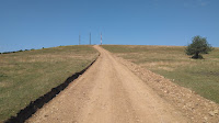 Exigente tramo final hasta las antenas de Santa Orosia