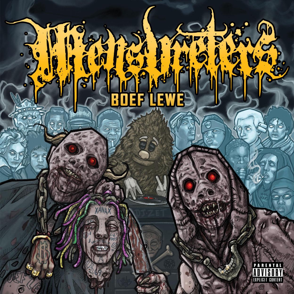 Mensvreters Boef Lewe Cover Art