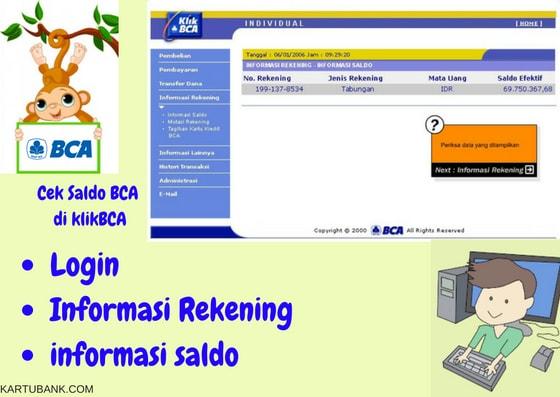 4 Cara Cek Saldo Rekening Bca Via Hp Atm Dan Desktop