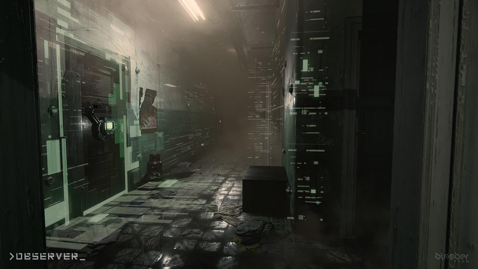 Observer, >observer_, Bloober Team, SciFi, Cyberpunk, Dystopia, Postapocalyspe, Adventure, Walking Simulator, Horror, Stealth, Inde Game, Review, фантастика, киберпанк, антиутопия, постапокалипсис, приключенческая игра, симулятор ходьбы, ужасы, хоррор, инди-игра, обзор, рецензия
