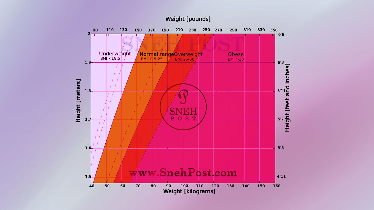 Height Vs Weight Graph