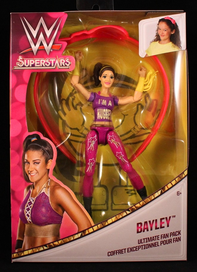 Bayley WWE Superstars Ultimate Fan Pack Mattel Wrestler Action Figure