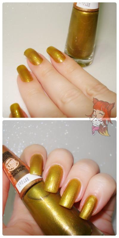 Esmalte Ludurana :: Ouro Puro - Resenha