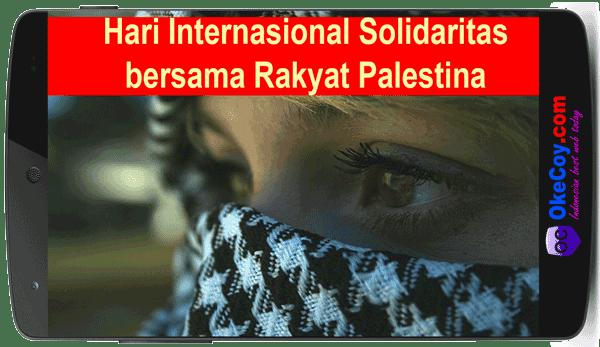 Hari Solidaritas bersama Rakyat Palestina Sedunia