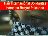 Hari Internasional Solidaritas bersama Rakyat Palestina