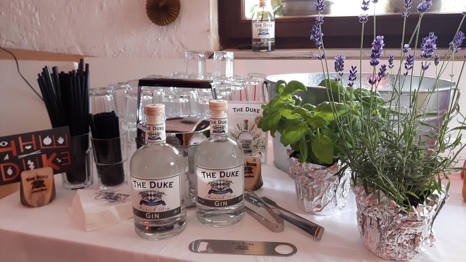 40. Geburtstag... Leckeres Getränke-Büffet für Gin-Freunde