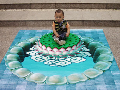 Creative and Cool 3D Chalk Drawings (10) 8