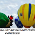Annual Pampanga Hot Air Balloon Festival 2019 Canceled