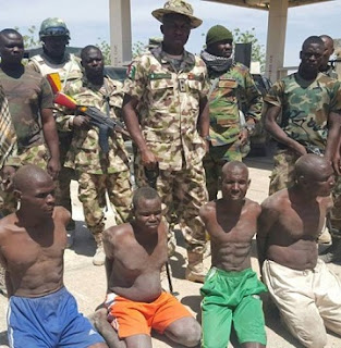 Army ARRESTS 4 Boko Haram Commanders Specialized In tactical Operations Of The Sects, See Photos