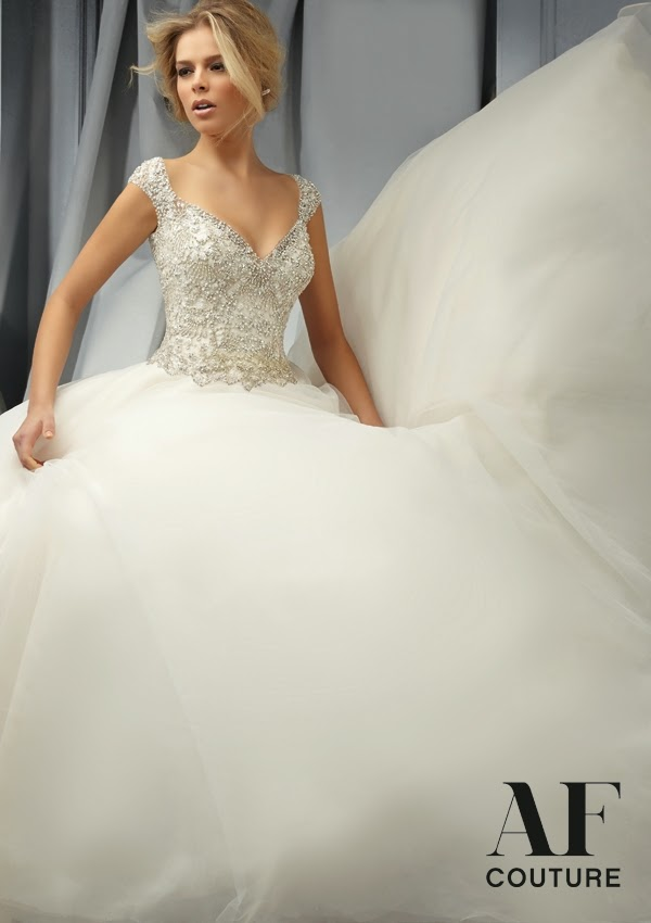 AF Couture by Mori Lee Fall 2014 Bridal Collection - Belle The Magazine