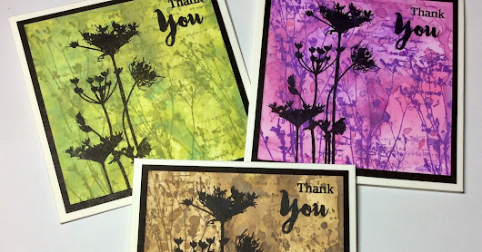 Thank You Cards for Bee Crafty