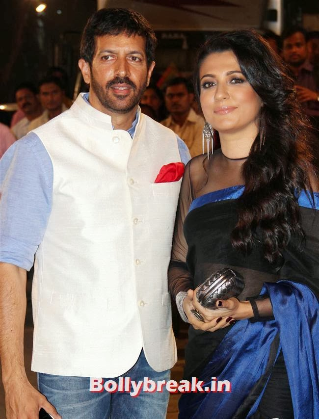 Kabir Khan and Mini Mathur, Filmfare Awards 2014 Red carpet Images