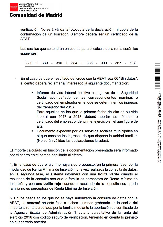 CEIP Claudio Sánchez Albornoz: PRECIOS REDUCIDOS COMEDOR (CURSO 2018 ...