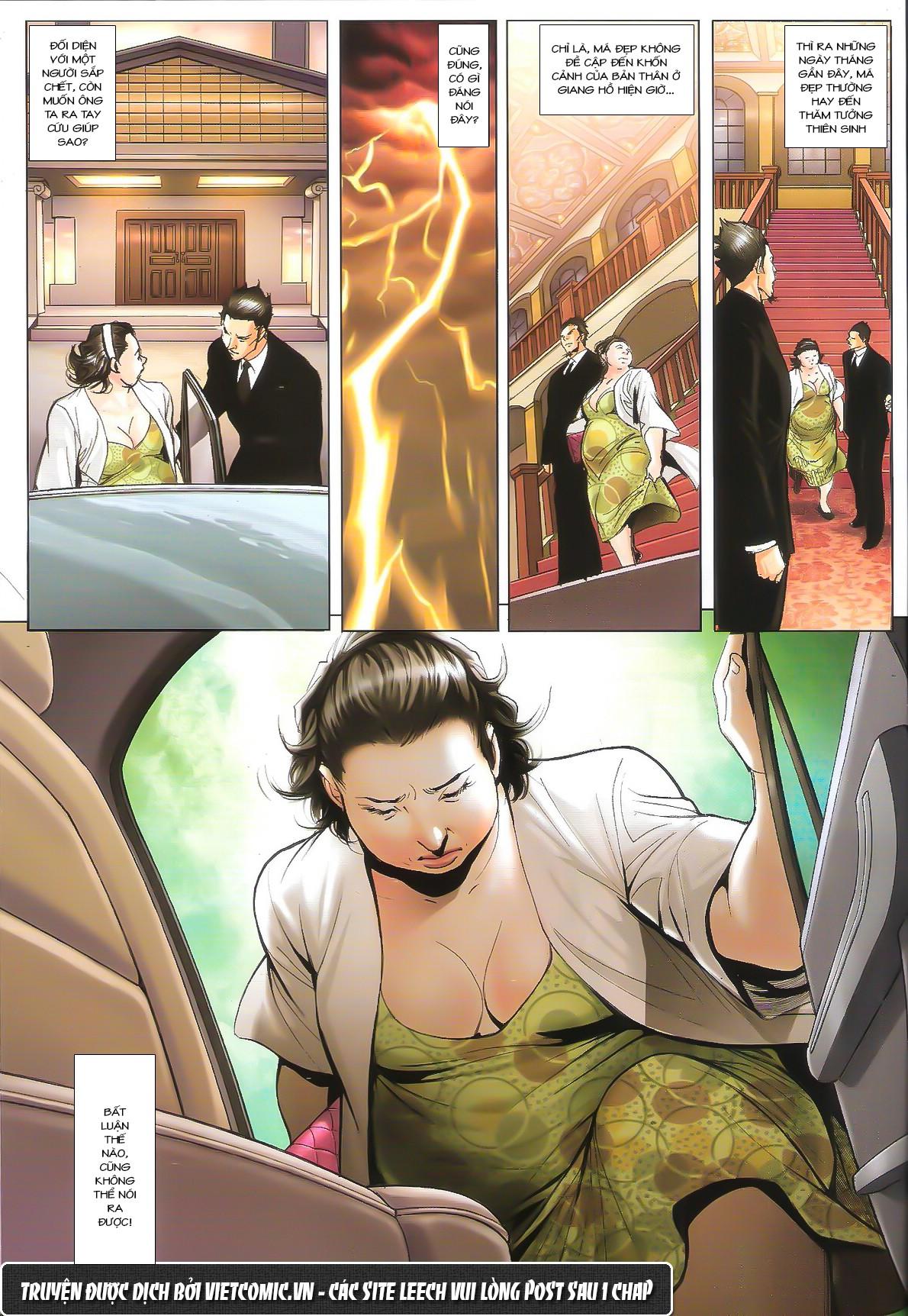 Người Trong Giang Hồ chapter 1611: đại hạn của tưởng thiên sinh trang 21