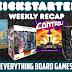 Kickstarter Recap - August 17, 2018
