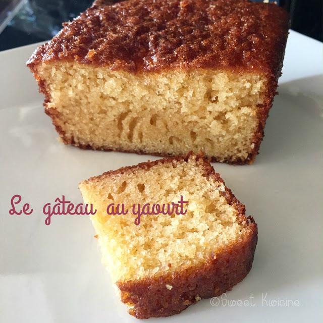 sweet kwisine, gateau, yaourt, recette de débutant,