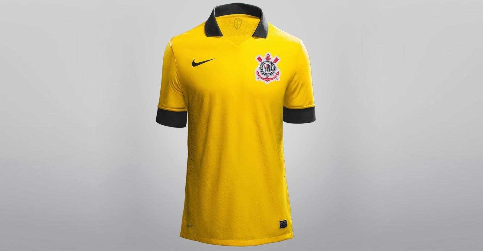 fb87a7242b Corinthians Campeão  Corinthians - Nova camisa Amarela do Corinthians