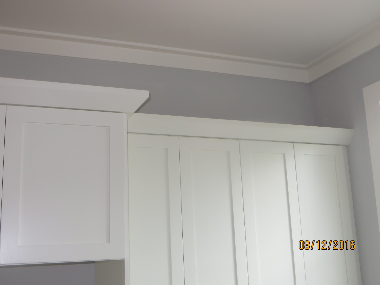 Shaker style crown molding - The Cabinet Crown Molding Is Simple But Works Well With The Shaker Style Doors