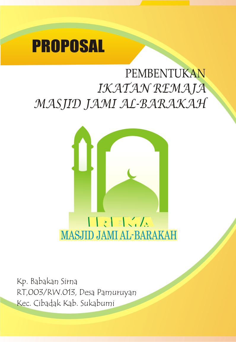 Contoh Proposal Pembentukan Ikatan Remaja Masjid Coretansuhaili