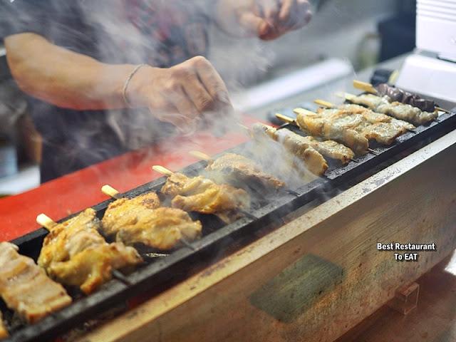 Tansen Izakaya 炭鲜居酒屋 Menu - Yakitori Skewer Grilling