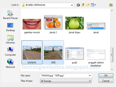 Cara menggabungkan beberapa photo menjadi satu dengan Psd