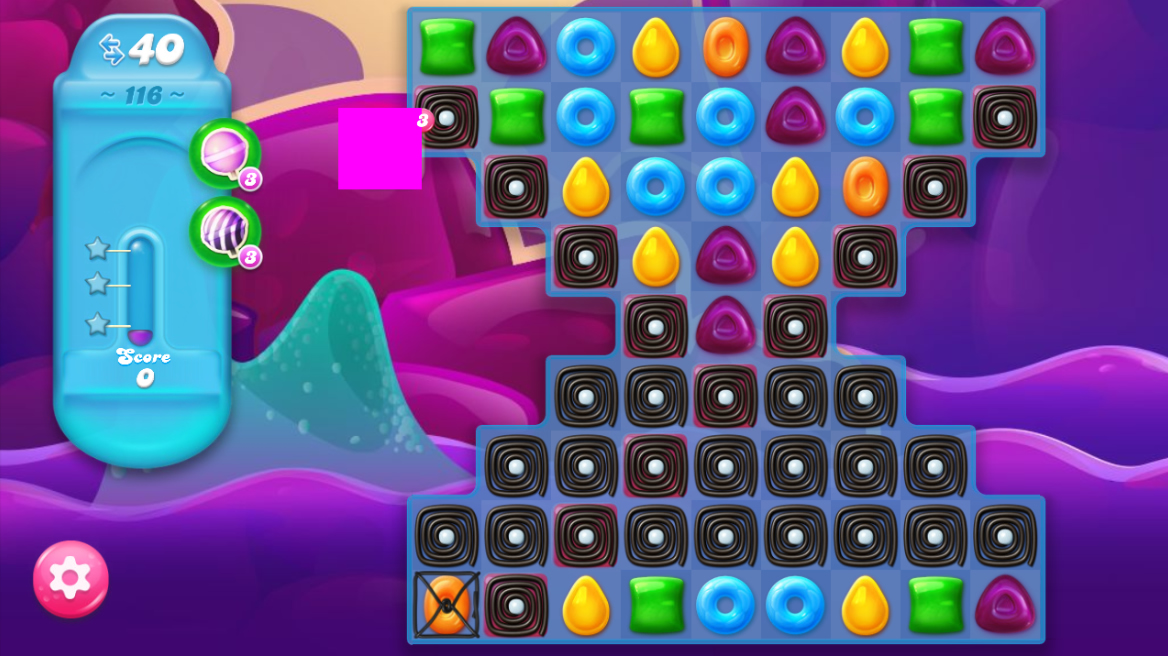 Candy Crush Jelly Saga 116