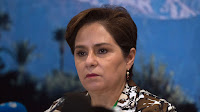 "Patricia Espinosa, executive secretary of the United Nations Framework Convention on Climate Change, urged ""sober assessment"" over the task still ahead. (Credit: United Nations Framework Convention on Climate Change) Click to Enlarge."