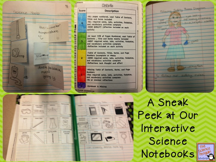 What's up in the Science Interactive Notebook? (week 1 and 2 ...