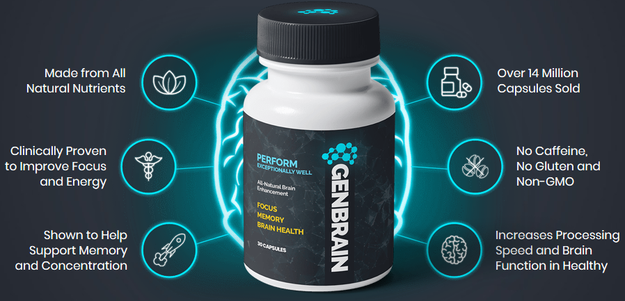 GenBrain / Inteligen - Brain Supplement