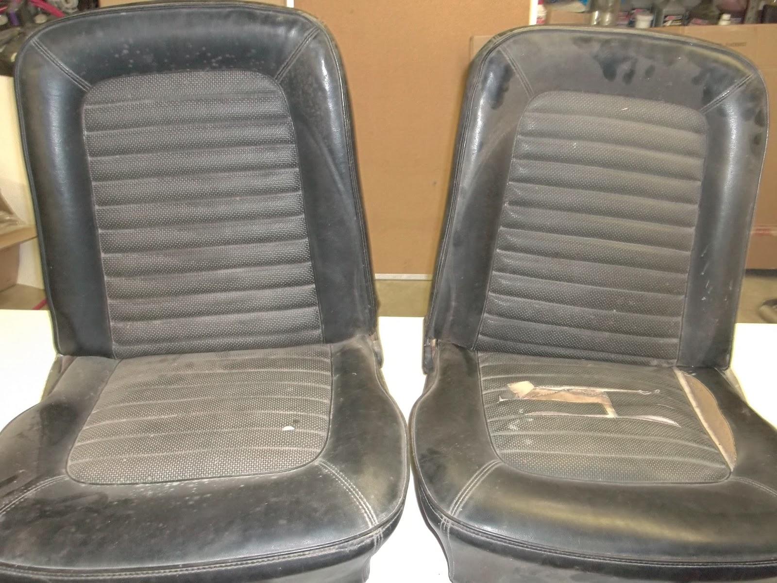 65 Mustang Restoration Post 58 9 8 15 Reupholstering The Seats