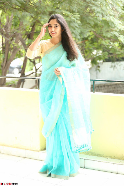 Radhika Mehrotra in Green Saree ~  Exclujsive Celebrities Galleries 001.JPG