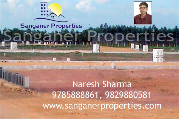 Commercial Land in Sanganer.