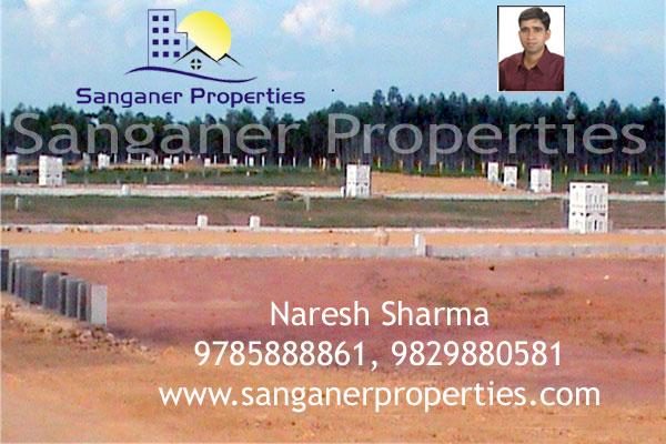 Commercial Land in Pratap Nagar, Sanganer.
